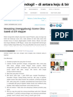Mosaicking Di ER Mapper