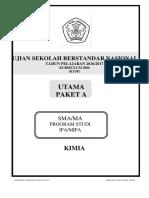 1. Soal Paket Utama a Kimia Ktsp