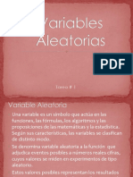 Variables Aleatorias 1