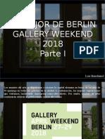 Luis Benshimol - Lo Mejor de Berlin Gallery Weekend 2018, Parte I