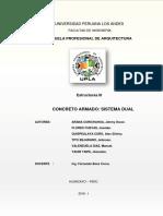 Estructuras 3 Sistema Dual