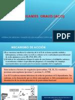 Anticoagulantes Orales (Aco)