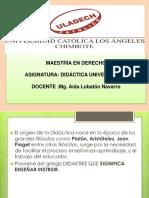 Didactica Aida 1ra Sesion 2015
