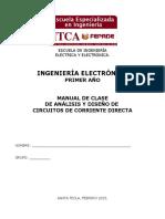 Manual de Análisis y Diseño de Circuitos de Corriente Directa 2013 Teoría