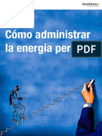 Como Administrar La Energia Personal