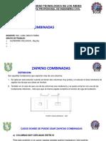 Zapatas Combinadassss