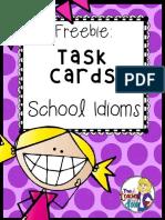 SchoolIdiomsTaskCardsFreebie.pdf