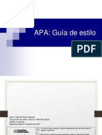 Guía de Estilo APA