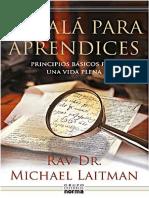 Cabala para Aprendices - Michael Laitman.pdf