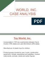 Analisis del caso toy world