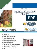 Diapositivas Seccion 17- Propiedad Palnta y Equipo