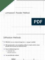 04_Powder Diffraction, Powder Method