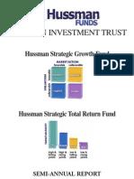 Hussman Annual Report 2009