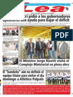 Periódico Lea Viernes 11 de Mayo Del 2018