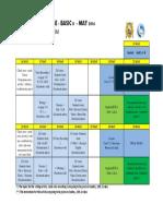 Programme Basic 8 May 2016