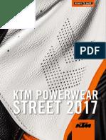 KTM PowerWear Street 2017