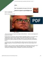 """""""Yo Hice La Herramienta de Guerra Psicológica de Steve Bannon"""" - Alba TV"""