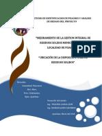 Mejoramiento de La Gi de Rrss Municipales en La Localidad de Pisaccasa