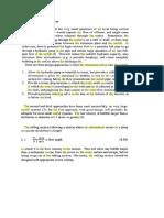 Air Bubble Deentrainment Section