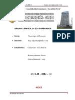 Informe Tecnico de Granulometria de Los Agregados