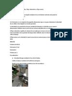 Practica Determinación de Densidades, Flujo volumétrico y Flujo masico