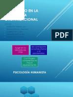 Humanismo en La Psicología Organizacional