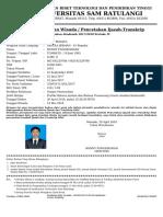 Bukti Pendaftaran Wisuda-100913005