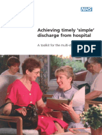 Timely Simple Discharge