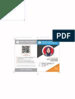 Kartu Anggota Pokja - Devy Rofinez Karsono