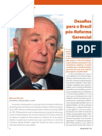 Bresser Pereira - Desafios para o Brasil pós-Reforma Gerencial