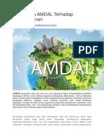 Pentingnya AMDAL Terhadap Pembangunan
