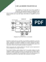 Historia de Las Redes Telefonicas