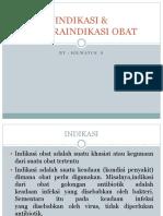 INDIKASI & KONTRAINDIKASI OBAT.pptx