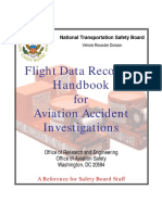 FDR Handbook - Flight Data Recorder Handbook for Aviation Accident Investigations