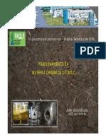 Fracionamento Materia Organica (UENF 2008)