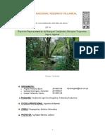 (Mi Extra )Especies Representativas de Bosques Templados, Bosques Tropicales, Lagos, Lagunas