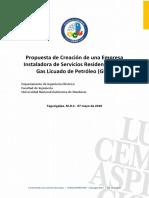 Proyecto Empresa Gas LP