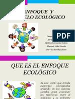 Presentación Del Enfoque Ecologico