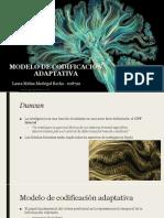 Modelo de Codificación Adaptativa