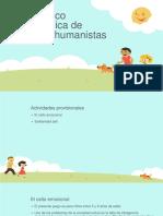 Caja Lúdico Pedagógica de Saberes Humanistas