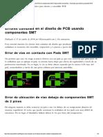 Errores Comunes en El Diseño de PCB Con... Tutoriales Para Diseño y Ensamble PCB