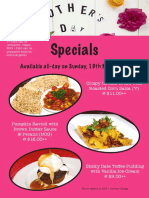 Mother's Day Menu 2018_A4