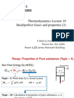 L-10 Pure Substance Ideal Gases-II
