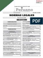 Todas las Normas Legales Del Peru de fecha 09.05.2018