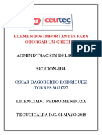 OscarRodriguez_31121727_Tarea-02_Elementos Importantes Para Otorgar Un Credito