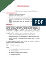 Informe 3 Principio de Bernoulli