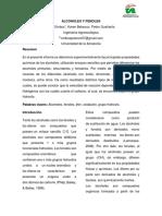 Informe 4-Alcoholes y Fenoles