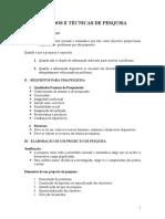 Mj - Técnicas de Pesquisa e Elaboraçao Da Dissertaçao - 06.08.17
