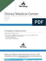 disney medical center hcin542 final