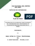 Tesis Final Vulneracion de Los Derechos Constitucionales